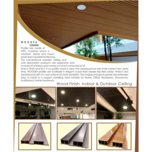 WOODEX Wall & Ceiling Panel