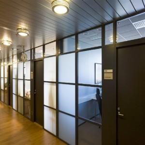 ALFB25 Aluminium Fabrication for  Office (300 x 300)
