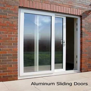 Aluminium Framed Sliding Glass Door ALFB28