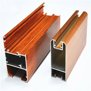 Aluminium Profiles Wood Coat ALEXP19
