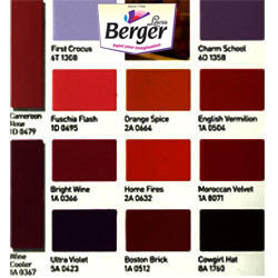 Berger Color Shade