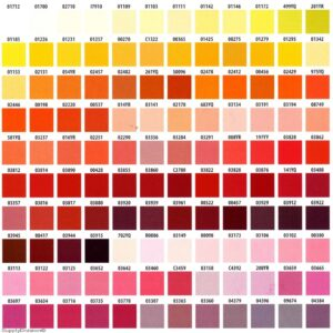 Berger Powder Coating Colors