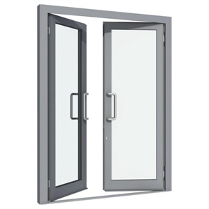 Fabricated Aluminium French DoorDOR14 (300 x 300)