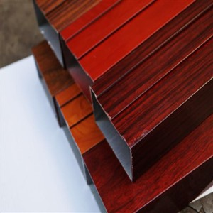 Wood Finish Aluminium Sections ALEXP21 (300 x 300)