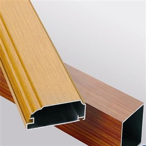 Wooden Type Aluminium Profiles ALEXP20